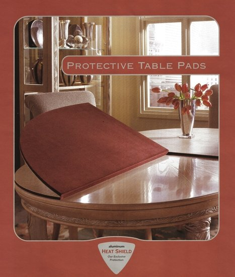 Custom Table Pads For Dining Room Tables: Table Pad For CUSTOM DESIGN Dining Table