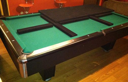 POOL TABLE PAD TABLE PAD SHOP - Topline pool table